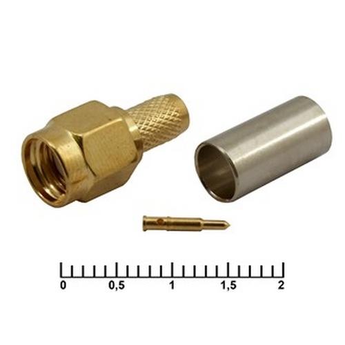 SMA-C58P gold