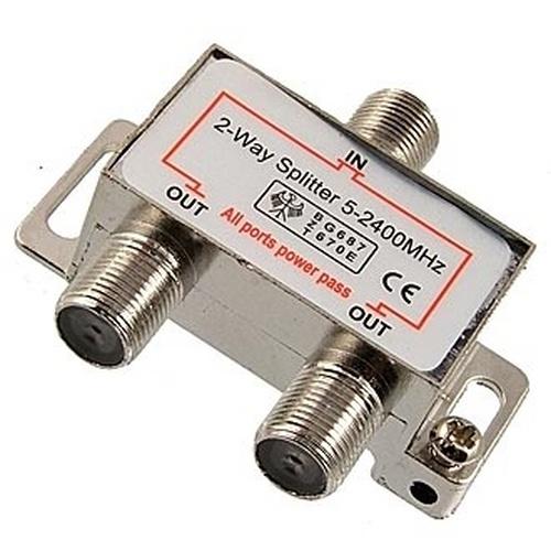 Сплиттер 5-2400MHz 1x2