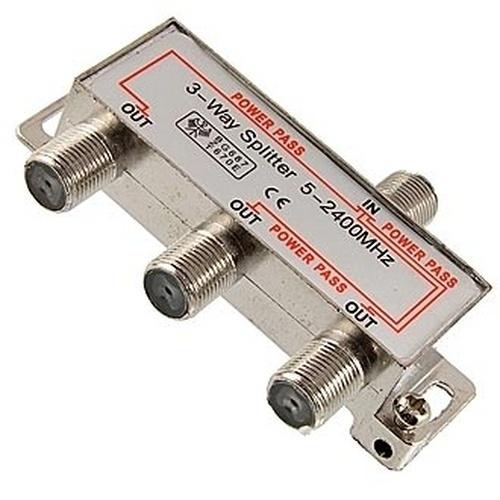 Сплиттер 5-2400MHz 1x3