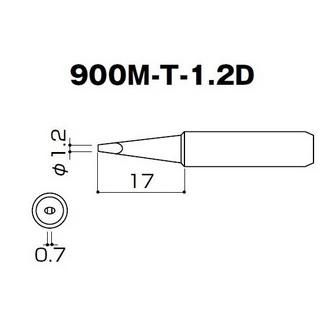 HAKKO 900M-T-1.2D жало