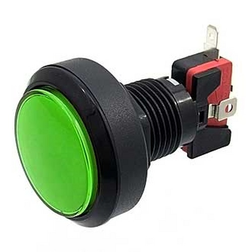 Кнопка GMSI-4B-C no(nc)+nc(no)green