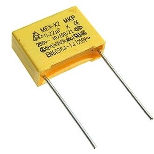 CAP 0.22uF/280VAC (X2)