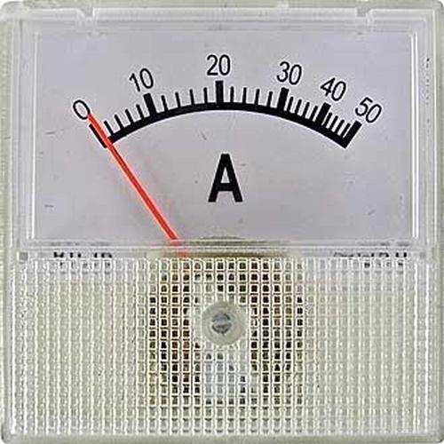 Амперметр 50/5А 50Гц (40х40)