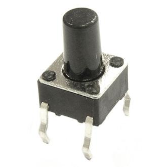 Кнопка KAN0611-0901B  6x6x9mm