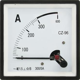 Амперметр 300/5А 50гц (96х96)
