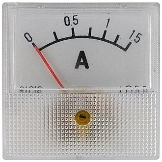 Амперметр 1.5А (40х40)