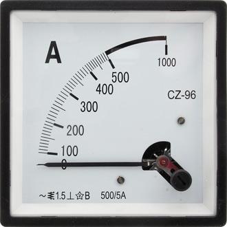 Амперметр 50/5А 50Гц (96х96)