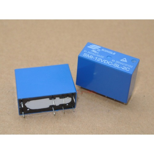 RELAY SMI-2P-12VDC-L-S-2C (14FD)