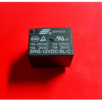 RELAY SRG-12VDC-L-S-C (4123)