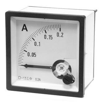 Амперметр 0.20А (72х72)