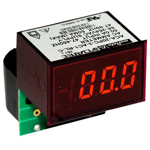 Амперметр ACA-20PC-3-AC1-RL-C
