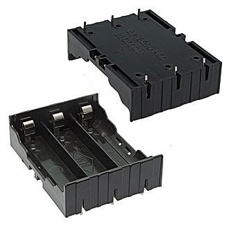 BAT/HOLD LI-ION 3x18650