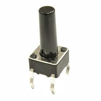 Кнопка KAN0611-1301B  6x6x13mm