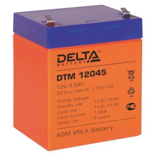 ACC 12V 4.5Ah DTM12045