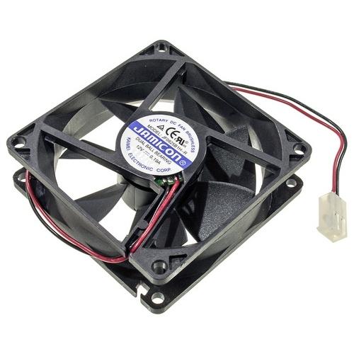 JF0825B2H, вентилятор 24В, 80х80х25