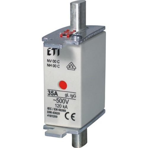 FUSE NV/NH00 C KOMBI 10A 500V gL-gG