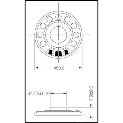 TRI50N-C 50 Ом 1.0Вт