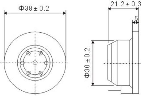 Капсюль телефонный SD-150